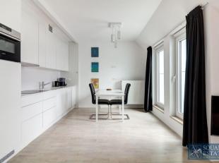 Cet appartement meublé se compose d'un hall d'entrée, d'un spacieux salon lumineux,<br /> d'une cuisine entièrement équip&