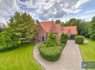 Prachtige ruime woning omgeven door groen met als kers op de taart nog een bouwgrond voor een OB van 802m² gelegen naast de woning! Op het gelijk