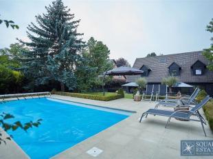 Dans lagréable quartier résidentiel du Bouchout, spacieuse villa 4 chambres entièrement rénovée se composant comme