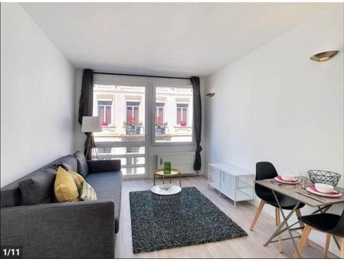 Appartement à louer à Saint-Gilles, € 690