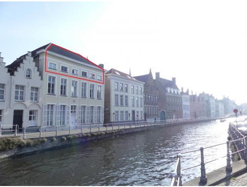 Duplex te huur in Brugge, € 1.350