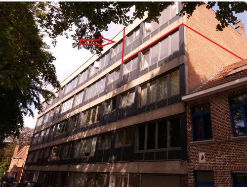 Appartement te huur in Brugge, € 660