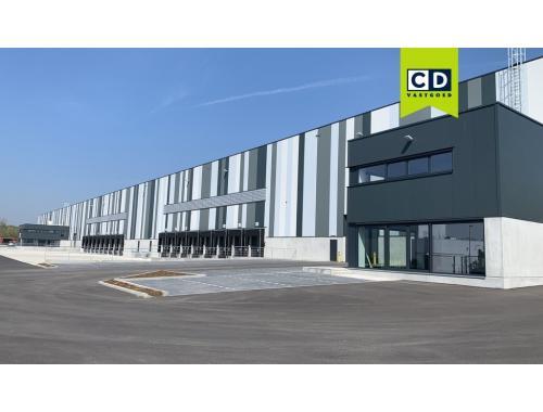 Nieuwbouw loodsen in Boom Logistics Centre nieuwbouw in Boom