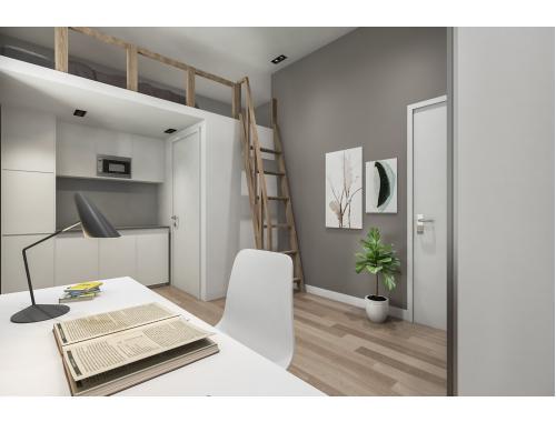 Studentenkamer te huur in Leuven, € 520