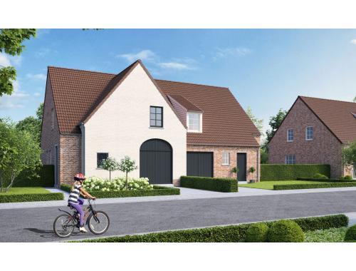Huis te koop in moorsele h8cdr zimmo for Huis met tuin te huur rotterdam