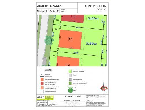 Terrain à bâtir à vendre à Alken, € 146.500