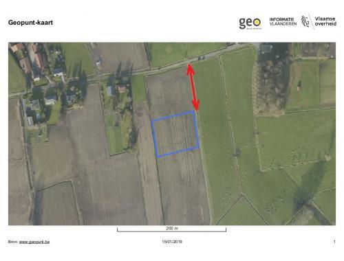 Landbouwgrond te koop in Nieuwkerken-Waas, € 35.000
