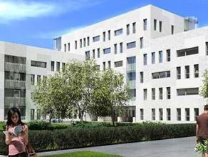 De uiterst comfortabele nieuwbouwstudio maakt deel uit van 'Campus Nieuw Zuid' (bouwjaar 2016), een moderne studentenresidentie met duurzame afwerking