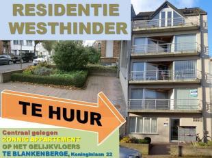 Te HUUR: Gelijkvloers appartement met 1 slaapkamer, met een zonnig terrasje vooraan + voortuintje zuidoost gericht en aan de achterzijde een ruime pri