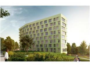 Trendy glowed kamer op de 6e verdieping, nabij station(1km) .De site ligt op Woods project -Luxueus ingerichte studentenkamer te Leuven aan het gloedn