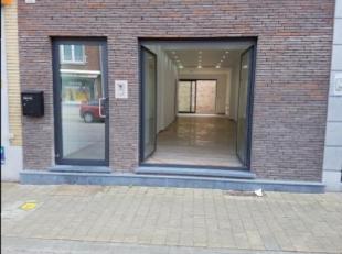 Handelsgelijkvloers 60 m² + terras 16 m² te huur in centrum Runkst.<br /> Gaarveldstraat 108<br /> Hasselt<br />