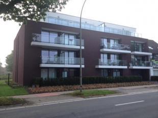 Nieuwbouw in gebruik genomen in 2016. Gelegen tussen het centrum van Genk en het Z.O.L. Appartement met twee slaapkamers, 1 badkamer, open keuken, een