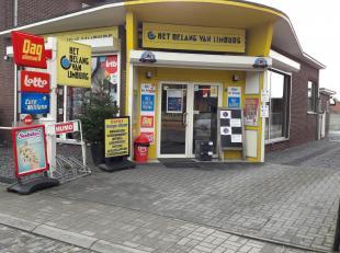 Handelspand (winkelruimte van ongeveer 100m2) met volledig ingerichte keuken en toilet. Kelderruimte<br /> (ingericht en gerenoveerd in 2010)<br /> Ve