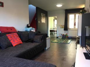 Toffe, alleenstaande woning in Battel met 2, mogelijks 3, slaapkamers. De woning werd vanaf 2011 gedeeltelijk vernieuwd. Vooral de woonkamer en badkam
