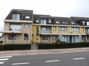 Appartement op gelijkvloers met private garage en kelder stockage-ruimte <br /> <br /> Te bezichtigen op afspraak op dinsdag van 19u00 tot 21u00<br />